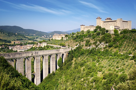 Spoleto Castle, Umbria (Rocca)