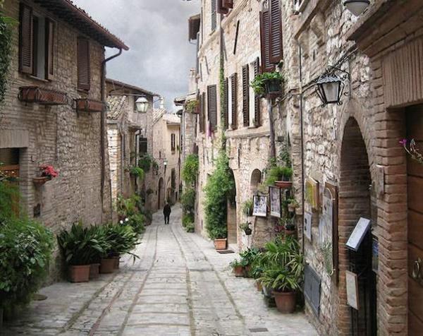 Spello, Umbria,Italy