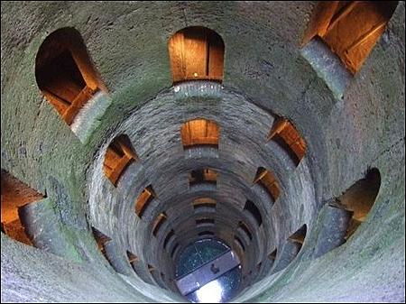 St. Patrick well Orvieto, Umbria,Italy