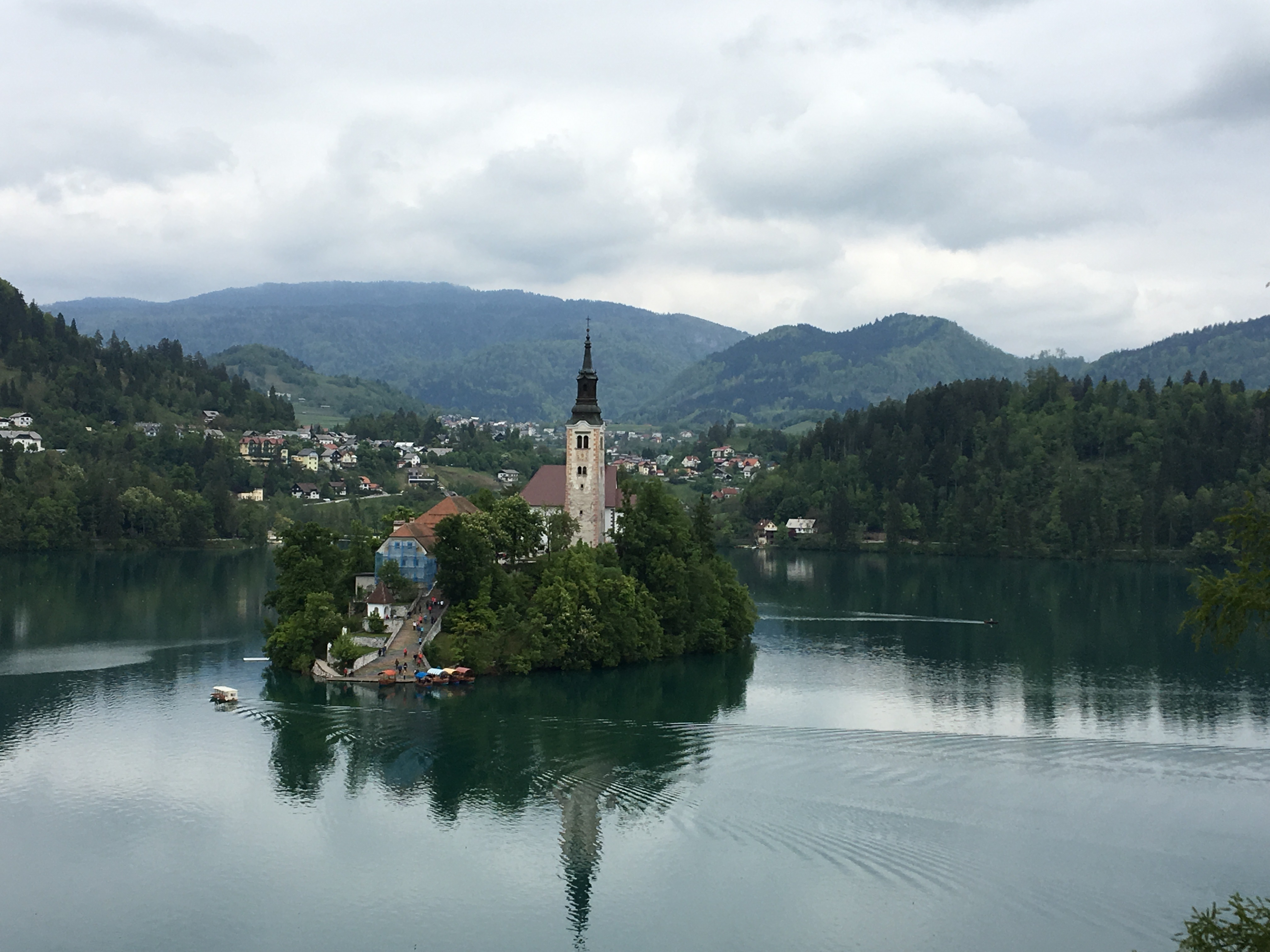 Bled island view2