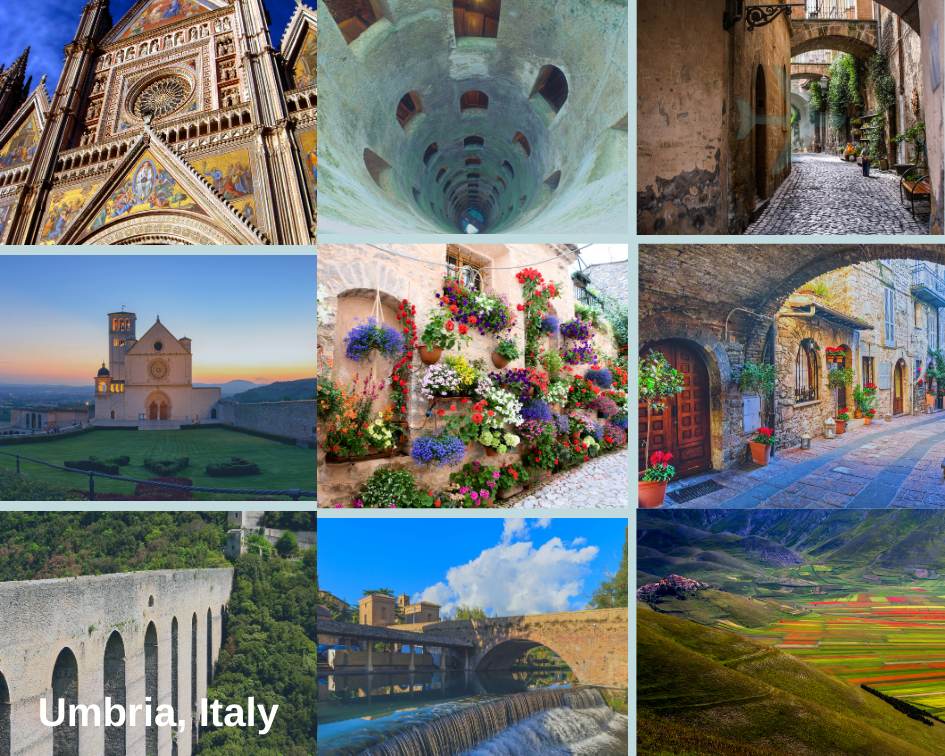 The most magical and beautiful hill towns of Umbria