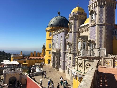 Fascinating Pena Palace