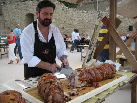 Porchetttta culinary paradise umbria