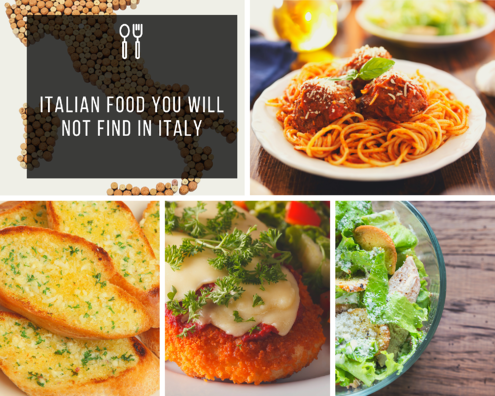 Italian Food You will Not Find in Italy