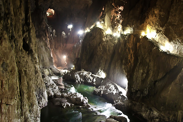 skocjan-caves slovenia