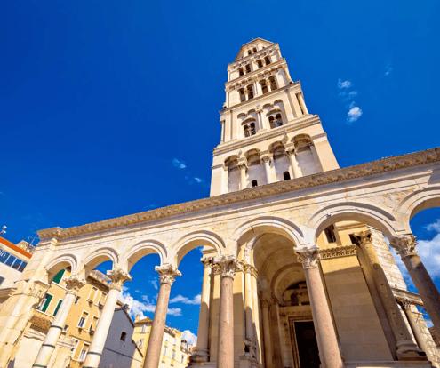 Split, A city Built inside a Palace