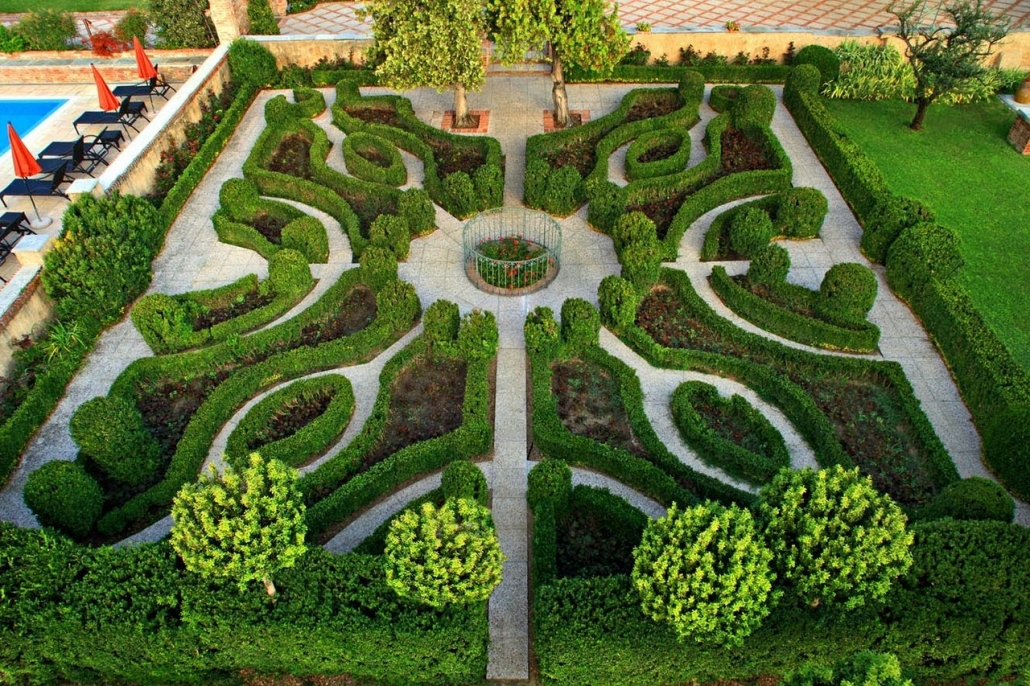 Gardens From The Top