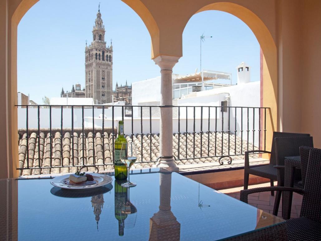 Terraza Hotel Andalucia